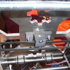 I3D_CLIP_BELT_HOTBED_PRUSA_I3_1.jpg Download free STL file Clip for T2.5 belt for Prusa I3 • 3D printer model, Imprenta3D