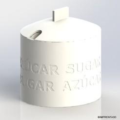 Descargar modelos 3D gratis Azucarero, Imprenta3D
