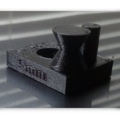 Free 3D printer files Fast printer and material test, Imprenta3D