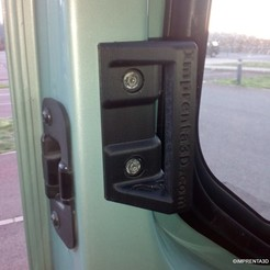 Download STL file Sliding door replacement for Vivaro Trafic Primastar vans • 3D printable design, Imprenta3D