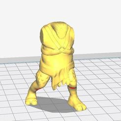 cuerpo.JPG Download STL file Body Mordor / Isengard troll • 3D print template, jacobotrf