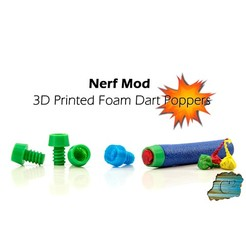 cult.jpg Download free STL file Nerf Explosive Tips - Party Snap Foam Dart Tips • Object to 3D print, dacinator