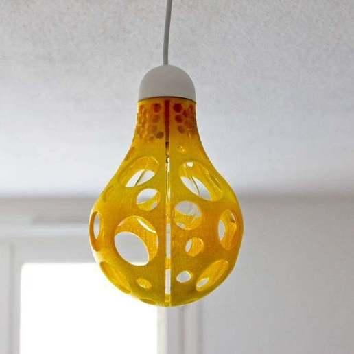 Download free 3D print files Lampshade bulb, RomeoFox