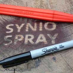 3D print files Sharpie Spray Pen, Synio