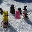 Download free STL file Snowman Ornament • 3D printing design, CyberWoolf