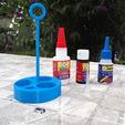 Free 3D printer model Support adhesive repar-EX, titi01