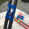 Free STL file Door sticks or ski, titi01