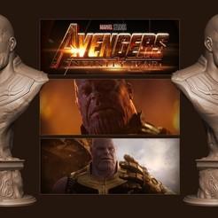 Fichier STL gratuit Thanos (Avengers: Guerre à l'infini), Byambaa