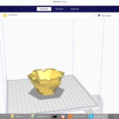 Download free 3D printing files Design ashtray, Simon06