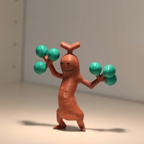 Download free STL file Sudowoodo (Pokémon GO ) • 3D printing model, HuangAro