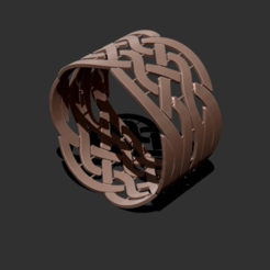 Download free STL file wristband • Template to 3D print, HuangAro
