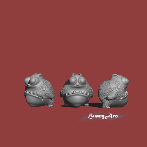 Capture d'écran 2017-05-10 à 10.22.21.png Download free STL file Cute Dragon / 蟾蜍龍 • 3D printer model, HuangAro