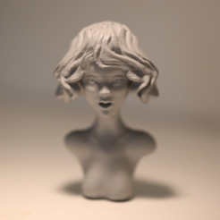 Free 3d print files Gaze sculpture, HuangAro