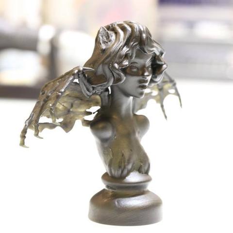 Capture d'écran 2017-09-01 à 11.33.10.png Download free STL file Flying witch Natasha • 3D printable design, HuangAro