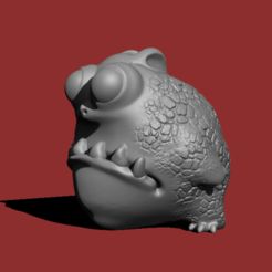 Capture d'écran 2017-05-10 à 10.22.29.png Download free STL file Cute Dragon / 蟾蜍龍 • 3D printer model, HuangAro