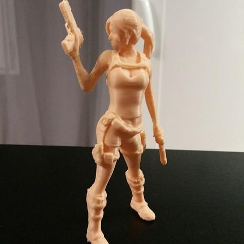 20170316_194041.jpg Download free STL file Lara Croft from Dos • 3D print model, Adonfff
