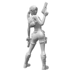 Free 3D model Lara Croft from Dos, Adonfff
