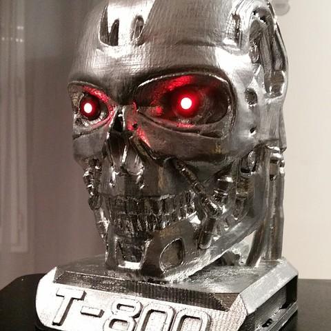 Download free 3D print files terminator T-800, Adonfff