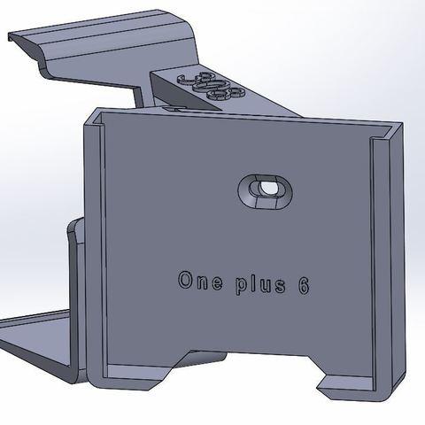 one plus.JPG Download STL file Peugeot 308 smartphone support • 3D printer design, C1-concept