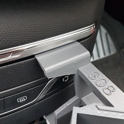 Download STL file Peugeot 308 smartphone support • 3D printer design, C1-concept