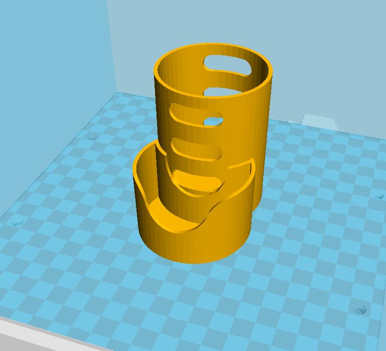 Capture du 2018-08-18 19-46-11.png Download free STL file Bezel holder • 3D printable design, C1-concept