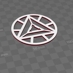 IRONMAN.jpg Download free STL file ARC reactor cupholders - IRONMAN • 3D printing template, Herzellet