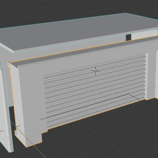 Télécharger fichier STL gratuit Bâtiment de stockage de garage pour le wargaming • Design imprimable en 3D, imonsei