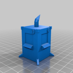 Download free STL file Data terminal for Infinity the game • 3D printable object, imonsei