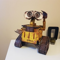 Download free 3D printer model Wall-E Robot - Fully 3D Printed, MartinThesen