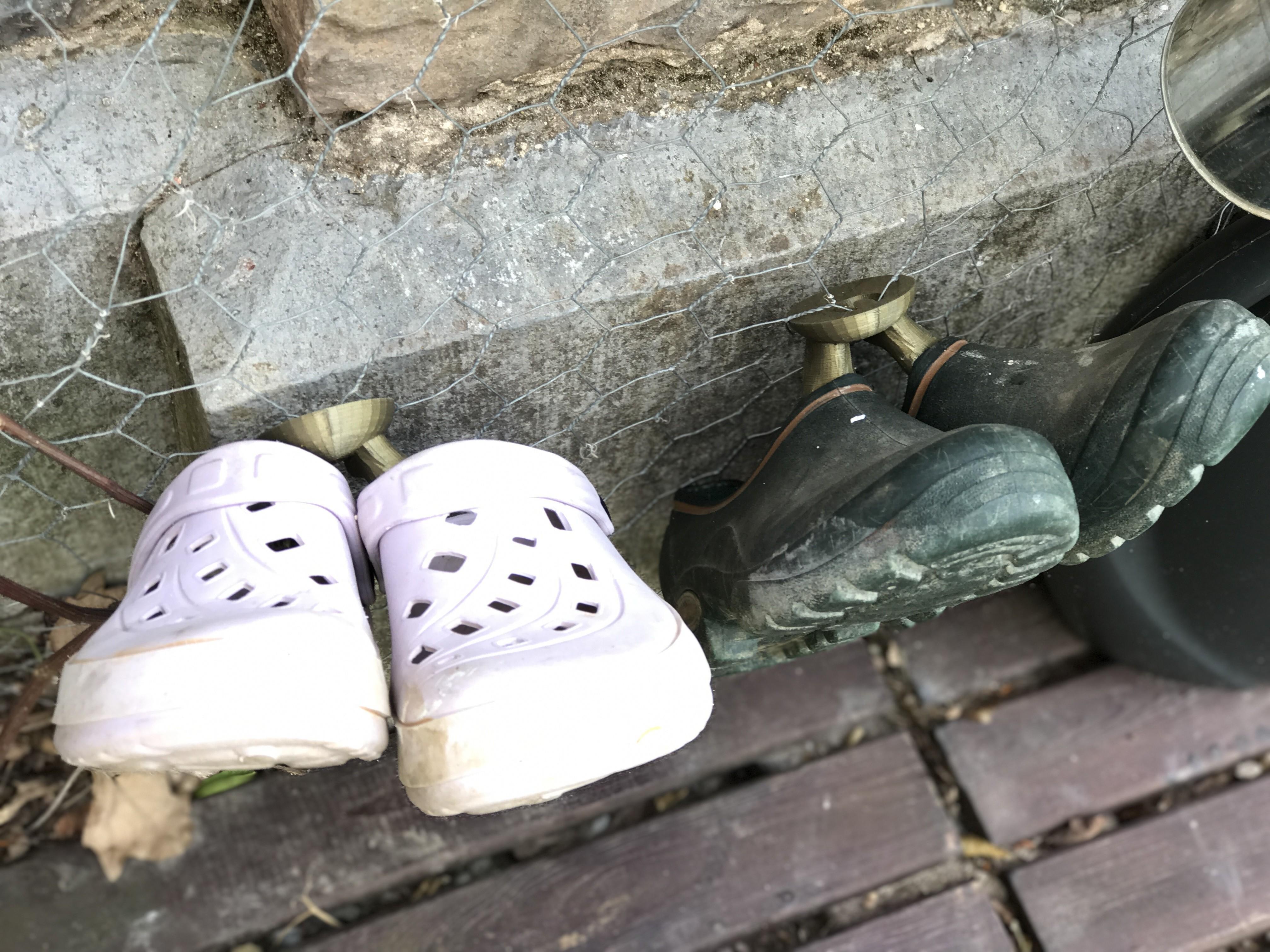 IMG_9821.JPG Télécharger fichier STL gratuit Crochet a chaussures • Objet à imprimer en 3D, Luckyco