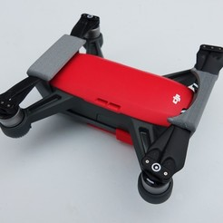 DSC01261.JPG Download free STL file Protection for DJI Spark • Template to 3D print, Luckyco