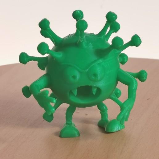 IMG_20200324_140401.jpg Download free STL file CoviDisNeuf • 3D printing design, Luckyco