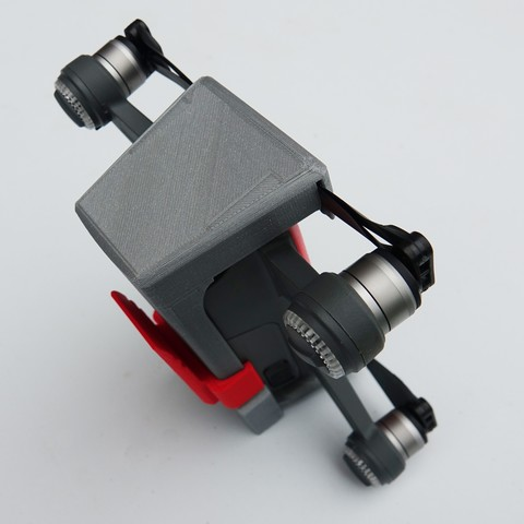 DSC01263.JPG Download free STL file Protection for DJI Spark • Template to 3D print, Luckyco