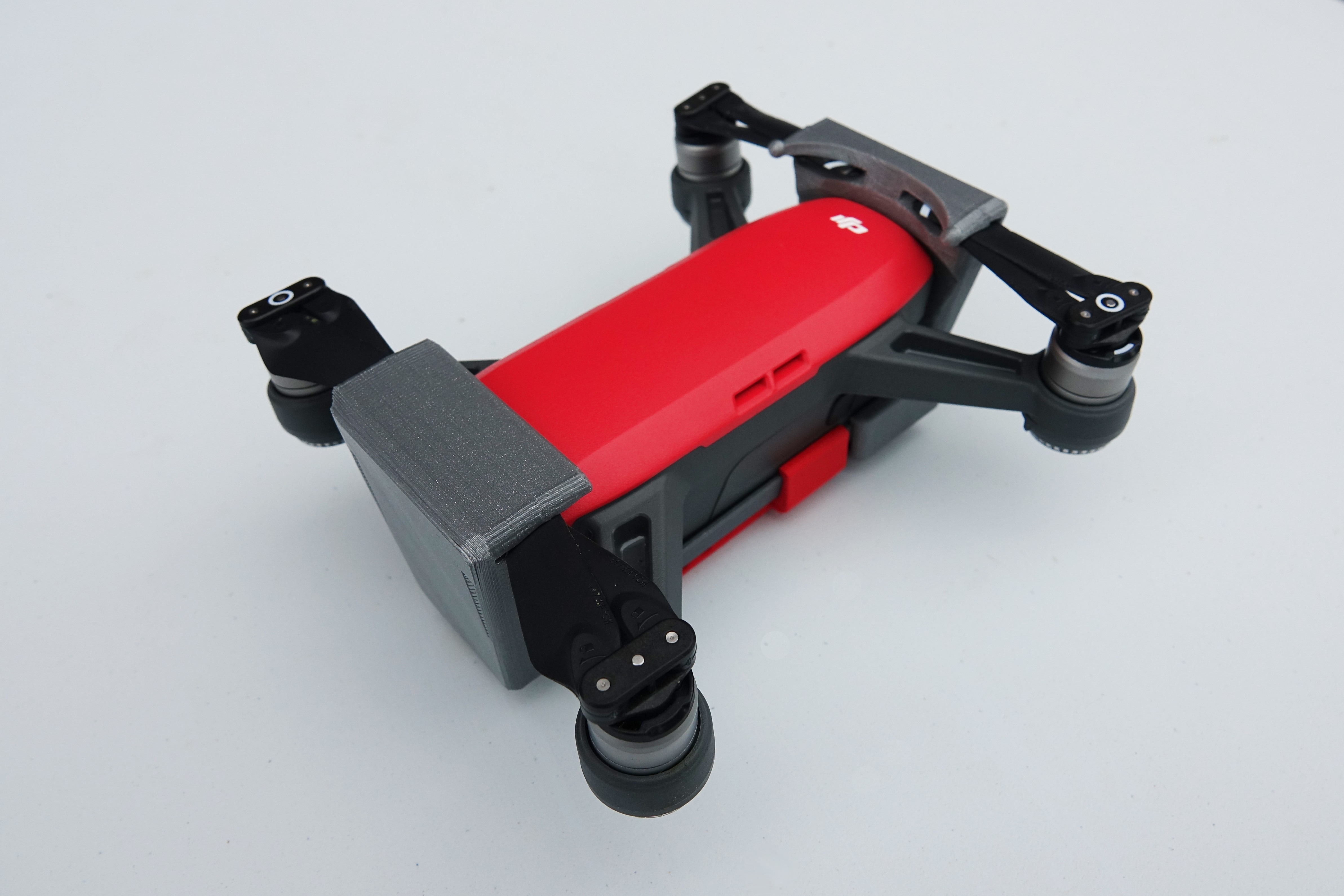 DSC01262.JPG Download free STL file Protection for DJI Spark • Template to 3D print, Luckyco