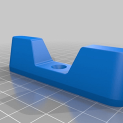 2260721b138a07fac803a29a6199f9a5.png Download free STL file Soundbar foot • 3D printing model, sapk