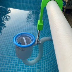 30.jpg Download STL file Towards 1: Skimmer support for Intex tubular swimming pool • Object to 3D print, Lolive