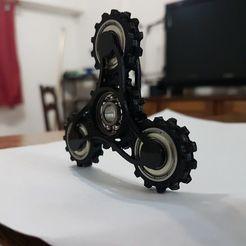 Descargar diseños 3D Geared Spinner, ElClon