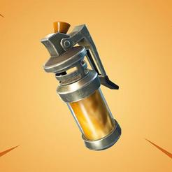STL Poisoned Grenade FORTNITE, Freesty