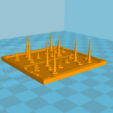 Download STL file Fortnite Retractable Floor Piles • 3D printer template, Freesty