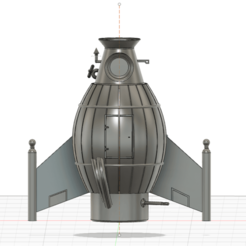 Descargar archivos STL gratis Rocket Doctor Snuggle, stephane49