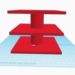 Imprimir en 3D gratis apoyo a la torta rubiks, stephane49