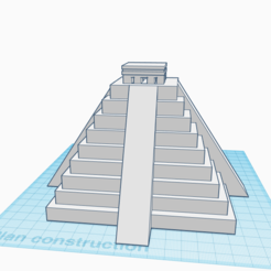 Descargar archivos 3D gratis pirámide Inca, stephane49