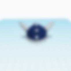 Download free STL file Viking single helmet • 3D printer model, stephane49