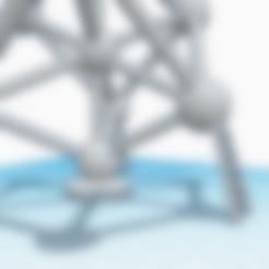 Imprimir en 3D gratis Atomium, stephane49