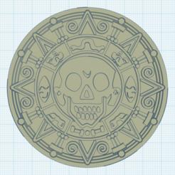 Descargar archivo 3D gratis La moneda azteca de doble cara, stephane49