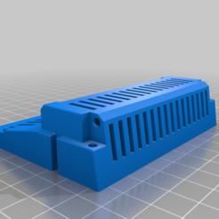 Boitier_Extension_Memoire_TO770_Arriere.png Télécharger fichier STL gratuit Boitier extension mémoire TO7 TO9 • Design imprimable en 3D, stephane49