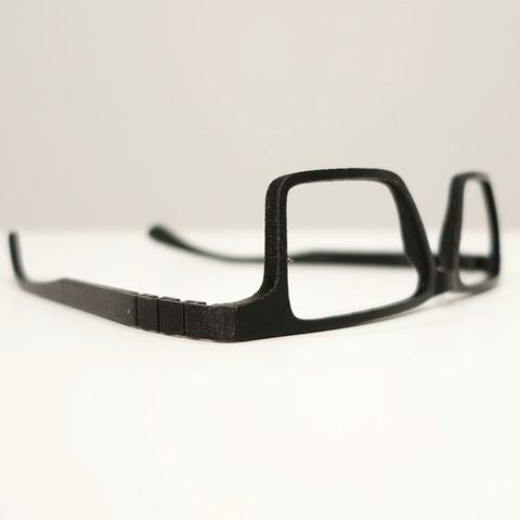 fichier stl gratuit lunettes personnalisables impression 3d vto cults. Black Bedroom Furniture Sets. Home Design Ideas