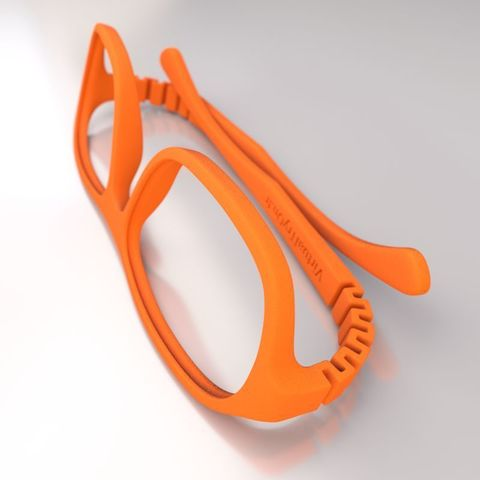 STL gratuit VirtualTryOn.fr - Lunettes Impression 3D - Steve, VirtualTryOn_fr