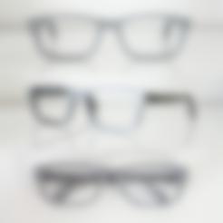 Télécharger objet 3D gratuit VirtualTryOn.fr Monture de lunettes (à plat), VirtualTryOn_fr