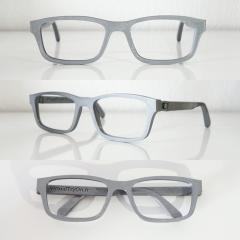 Descargar STL gratis montura de gafas VirtualTryOn.fr (plana), VirtualTryOn_fr